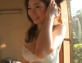 Nagasawa Azusa Curvaceous babe flaunts her big tits picture 11