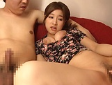 Hot milf Chinami Sakura delivers a passionate handjob picture 15