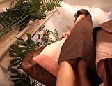 Sensational massage for a cute lovie
