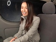 Perfect Japanese car sex with one amateur honey