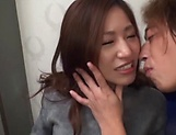 Arousing Japanese milf with big tits is toyed picture 6