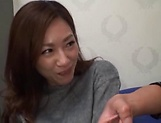 Arousing Japanese milf with big tits is toyed picture 9