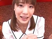 Hot Suzumira Airi offers a sensational handjob