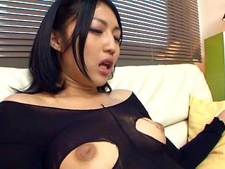 Saionji Reo is a hot, Japanese milf