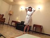 Sassy legal age cuite Kitano Nozomi enjoying herself