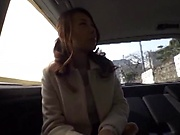 Kinky love enjoys getting freaky in the car