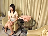 Bubbly Sweet Japanese amateur model pleasured picture 8