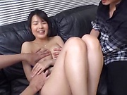 Japanese married woman gets nailed well