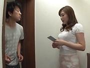 Amateur Asian hottie Saitou Miyu in hardcore sex fun