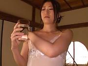 Japanese woman is fucking random men