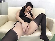 Breathtaking solo girl performance indoors