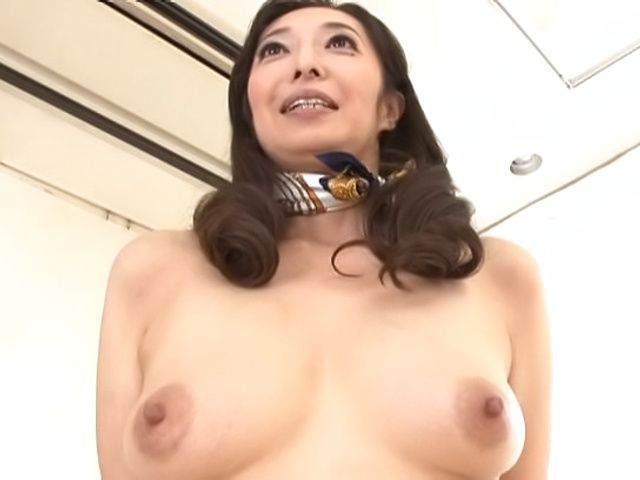 Cock starved Otowa Ayako shows off her goodies