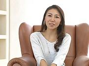 Sensual Japanese milf shows off nude and kinky