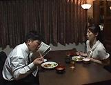 Hot Asian minx Sugiura Tae fulfills her sexual desires