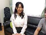 Seductive mature honey Kirishima Minako blows like a pro picture 13