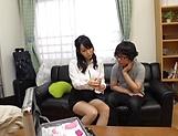 Seductive mature honey Kirishima Minako blows like a pro