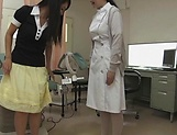 Hot Asian Rika Kashiwagi with very hairy pussy picture 9