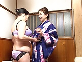Hot lesbian raunchy fun involving spicy hot babes