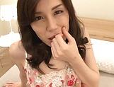 Busty mature Imamiya Keiko stimulate dude POV picture 11