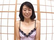 Mature in sexy lingerie sucks and fucks in hot POV