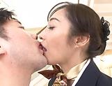 Otowa Ayako gets her hairy muff creampied picture 11