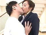Otowa Ayako gets her hairy muff creampied picture 13
