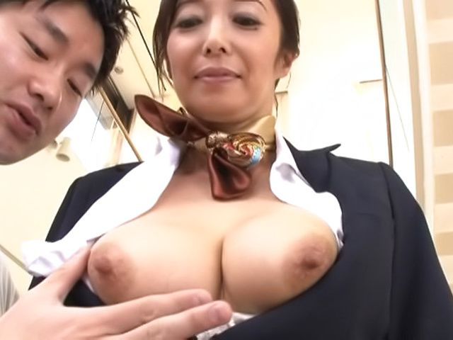 Otowa Ayako gets her hairy muff creampied
