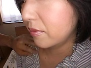 Chubby Japan wife hard fucked while filmed