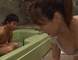 Cute sleazy beauty Yamaguchi Mari loves a yummy clitjob picture 8
