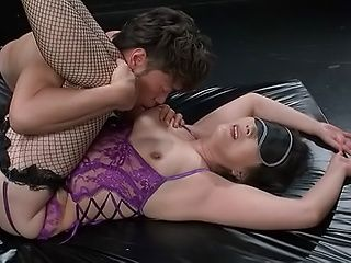 Nice Japanese mature enjoys ass licking action