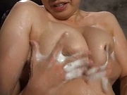 Busty mature princess enjoys a steamy porn play