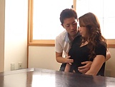 Kazama Yumi featured in nasty pussy pounding picture 10
