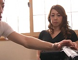 Kazama Yumi featured in nasty pussy pounding picture 11