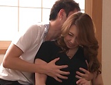 Kazama Yumi featured in nasty pussy pounding picture 4