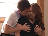 Kazama Yumi featured in nasty pussy pounding picture 6