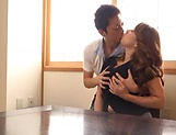 Kazama Yumi featured in nasty pussy pounding picture 8