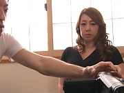 Kazama Yumi featured in nasty pussy pounding