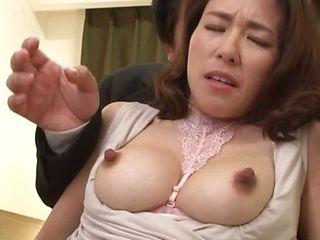 Mizuno Yuuka fucked a handsome stranger