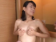 Hot mature loves to play with cock when naked and aroused
