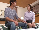 Soapy porn play with insolent mature Asou Chiharu