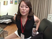 Kurino Yuoko in a hardcore wild action
