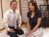 Kobayakawa Reiko looks dashing with cock inside her
