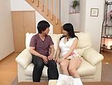 Spicy cutie Kirishima Minako surely knows how to blow a cock