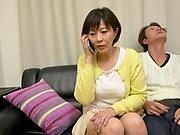 Sensual mature Enshiro Hitomi in a hardcore drilling action