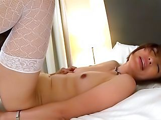 Adorable hot Tokyo beauty getting banged hard