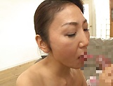 Fantasy oral sex at home with a premium mature