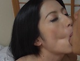 Nanami Hisayo thrilled by a heavenly pussy licking picture 12