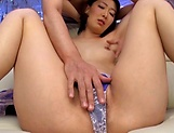 Itou Eri egtting stimulated with sex toys good