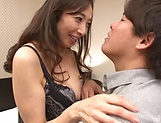 Otowa Ayako gets her wet muff drilled hard