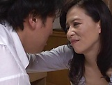 Mature Japanese babe enjoys a hot wild fuck picture 15